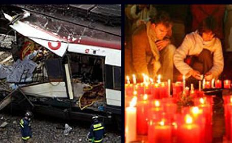 Astazi se implinesc cinci ani de la atentatele sangeroase din Madrid!