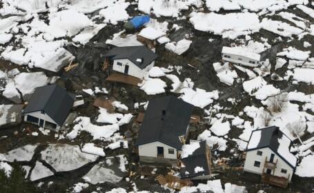 Alunecare de teren in Norvegia