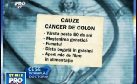 factori favorizanti ai aparitie cancerului de colon