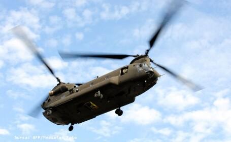 Se intampla si la case mai mari: un elicopter US NAVY a aterizat in pom