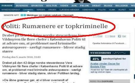 Romanii criminali in Danemarca