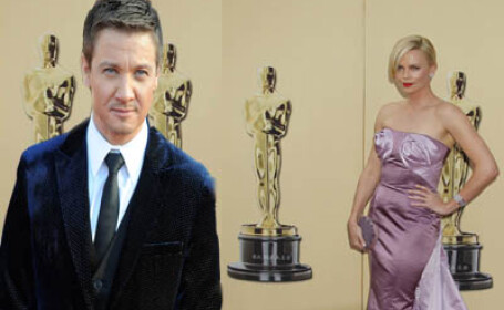 Charlize Theron si Jeremy Renner