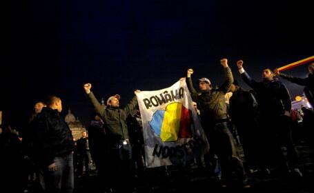 Proteste: Noua Dreapta nu vrea sa auda de autonomia Tinutului Secuiesc