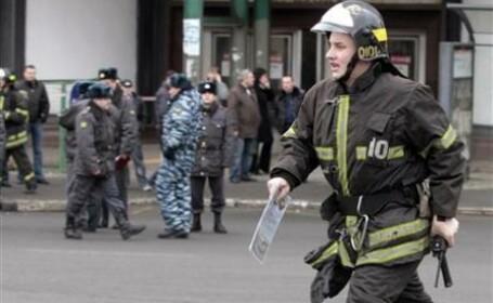 In jur de 400 de persoane implicate in operatiunile de salvare la Moscova
