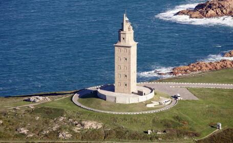 Turnul lui Hercule, singurul far roman care mai functioneaza