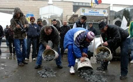 Protest Hunedoara