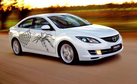 Mazda 6 cu paianjen