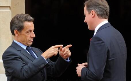 Sarkozy si Cameron