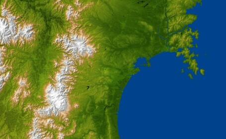 Imaginea Japoniei dupa tsunami, vazuta din spatiu - 1