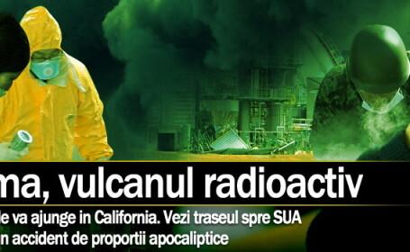 Fukushima, vulcanul radioactiv d