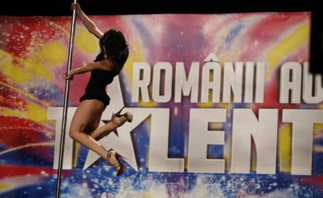 Madalina Stanciu la Romanii au talent