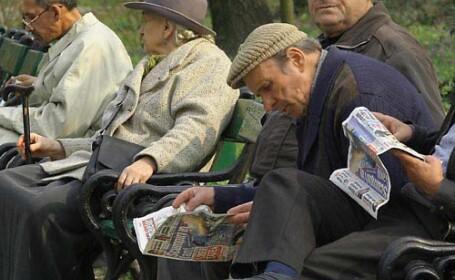 pensionari in parc