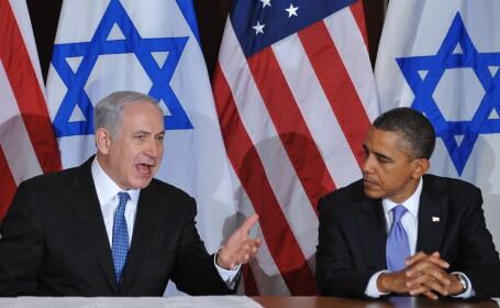 Benyamin Netanyahu si Barack Obama