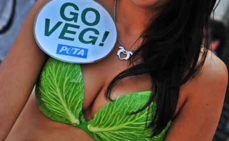 PETA - protest salata