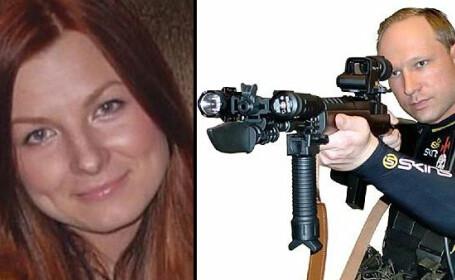 Anders Breivik si iubita lui