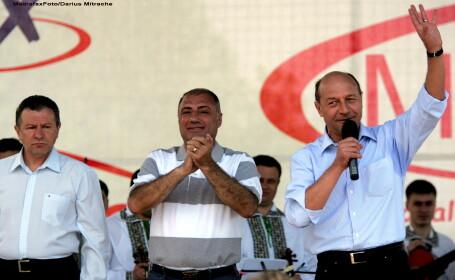 Radu Berceanu, Antonie Solomon si Traian Basescu