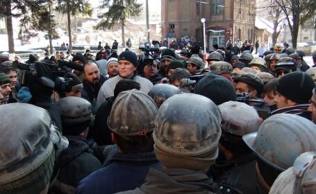 Fratele lui Miron Cozma, intre miile de mineri care au vrut sa plece spre Bucuresti. Ce va fi vineri