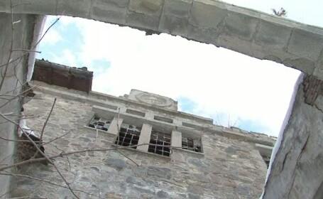 Zapezile au distrus un monument istoric unic in tara. Inchisoarea Doftana a ajuns o ruina