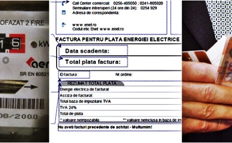Facturi curent electric