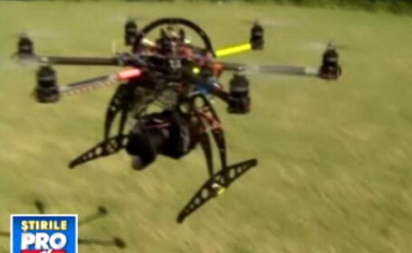 Dronele civile. Aparate de zbor fara pilot, pentru politisti si agenti imobiliari. VIDEO
