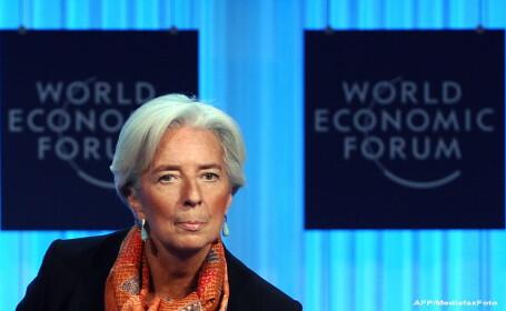 Christine Lagarde, directorul FMI: \