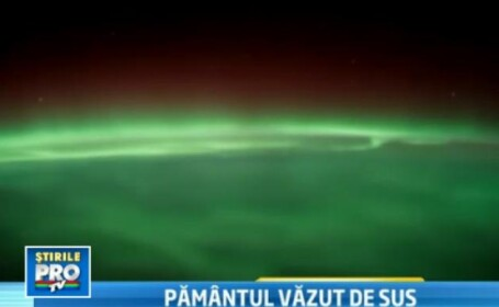 VIDEO. Imagini care iti taie respiratia. Aurora boreala vazuta de pe Statia Spatiala Internationala