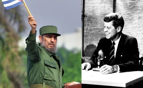 John F. Kennedy si Fidel Castro
