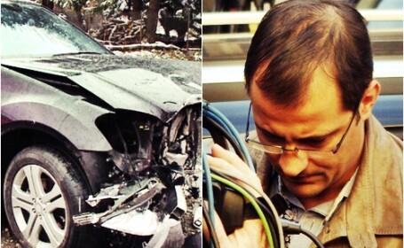 Serban Huidu accident