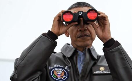 Obama binoclu