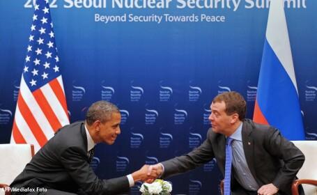 Barack Obama si Dmitri Medvedev