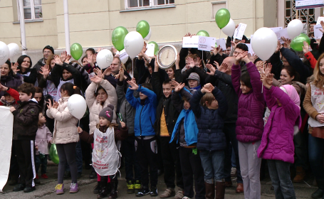 Campanie impotriva bolilor rare. Peste 200 de persoane din Timisoara vor participa la un mars de constientizare