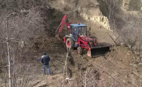 Sute de resturi de cai au fost descoperite intr-un cimitir ilegal al animalelor langa Medgidia