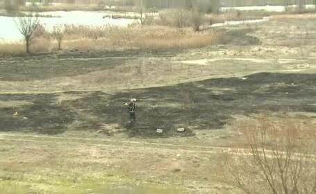 Mica Delta a Bucurestiului, in pericol. Aproape zilnic izbucnesc incendii acolo, unele provocate