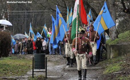 Demonstratii pentru autonomia Tinutului Secuiesc in orase din Europa si America