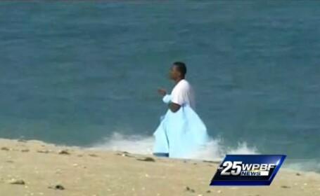 Politia din Florida a reusit arestarea unui barbat cu ajutorul unui rechin. VIDEO
