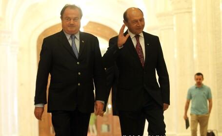Traian Basescu, Vasile Blaga