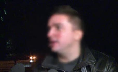 Replica acestui sofer baut din Bucuresti in fata politistilor, intrebat de ce nu a oprit la semnal