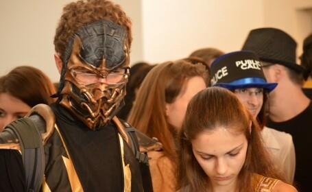 Comic-Con Romania. Actori celebri, figurine de 1000 de lei si aglomeratie mare la prima conventie SF