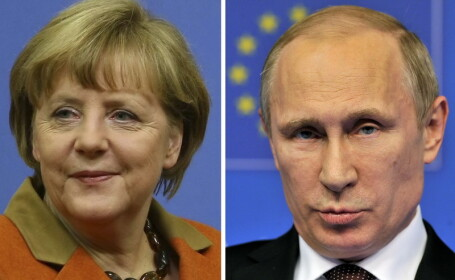 Angela Merkel: Europa nu va lasa Rusia \