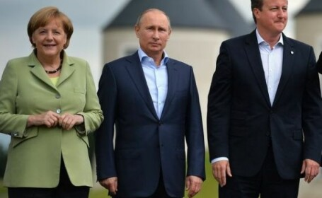 Merkel, Putin si Cameron