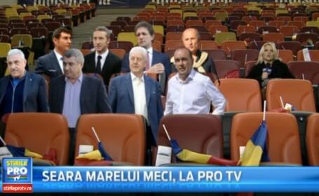 ROMANIA - ARGENTINA. Simulare grafica din tribuna VIP unde 8 locuri au ramas libere dupa condamnarea greilor din fotbal