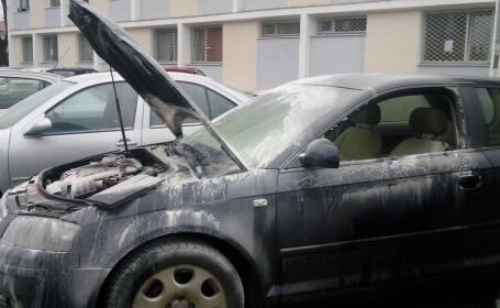 incendiu masina, complex