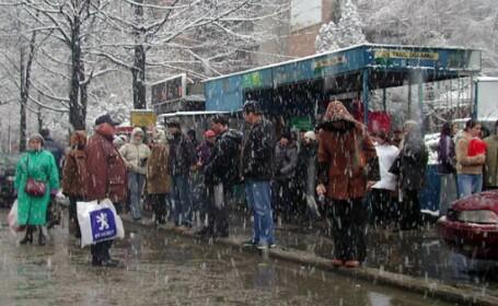 Vreme deosebit de rece, cu temperaturi negative si precipitatii mixte. Prognoza meteo pentru urmatoarele zile