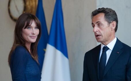 Nicolas Sarkozy si Carla Bruni