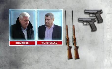 Ioan Becali, Victor Becali