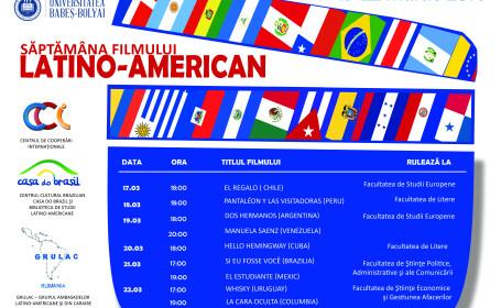 Saptamana Filmului Latino-American la UBB