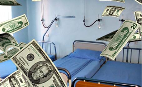 spital bani frauda