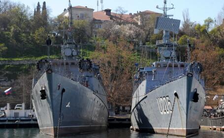 Nave rusesti in Crimeea