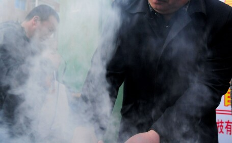 Vanzator ambulant din China