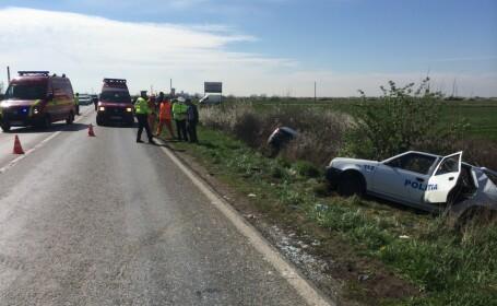 accident, masina politie